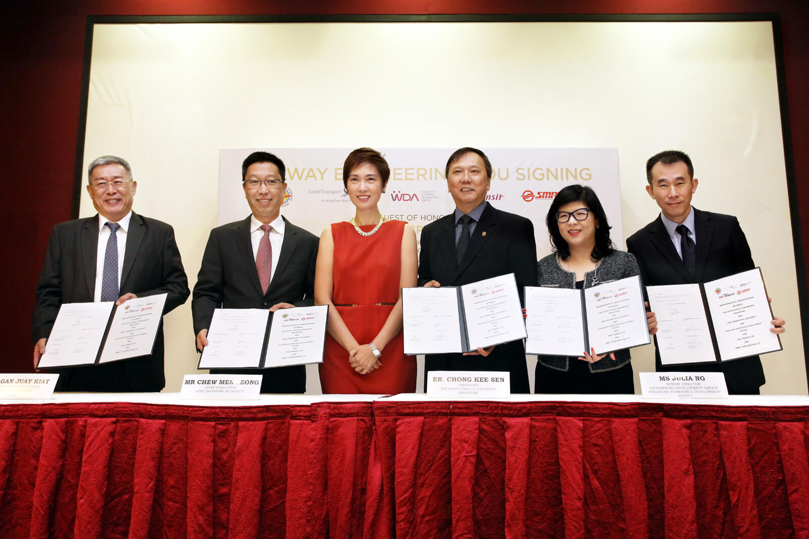 MOU signing - Railway engineers accreditation